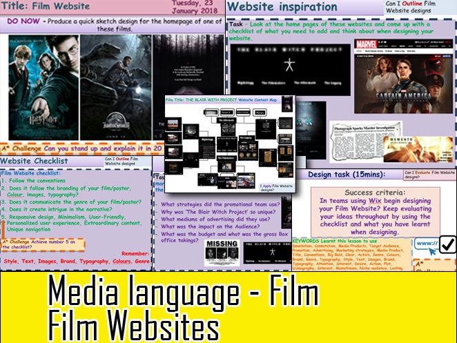 Media Language Film Websites