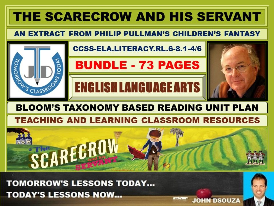 THE SCARECROW AND HIS SERVANT - READING PROSE: BUNDLE