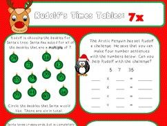 KS2 Christmas activity bundle - reading and maths