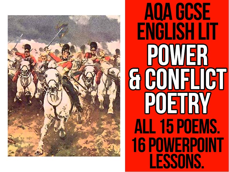Power and Conflict Poetry - 16 Revision Lessons