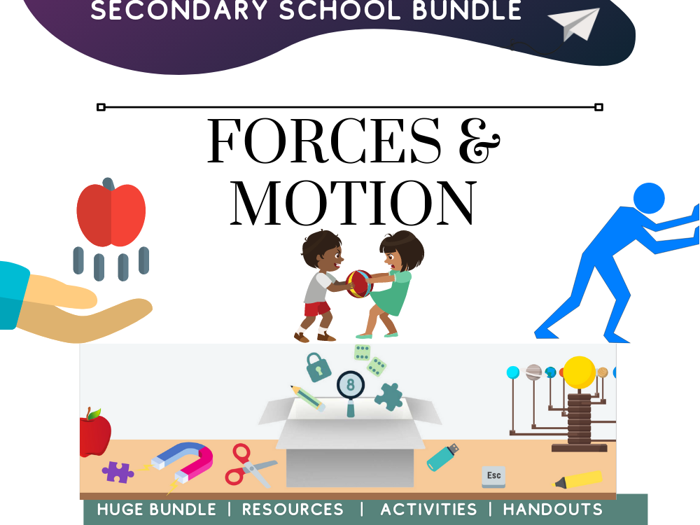 Forces and Motion Physics Science Revision
