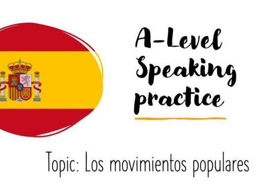 As Speaking Conversartional Los Movimientos Populares