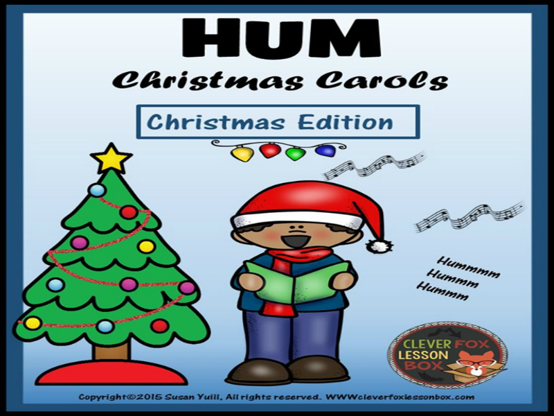 graphic relating to Christmas Carol Game Printable identify Xmas Carols Buzzing Video game