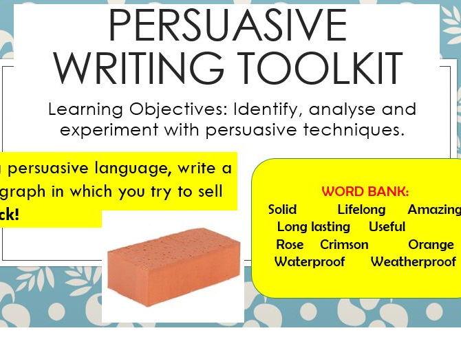 how to write a persuasive article