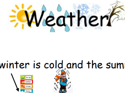 KS1 Weather: Phase 2-6 texts