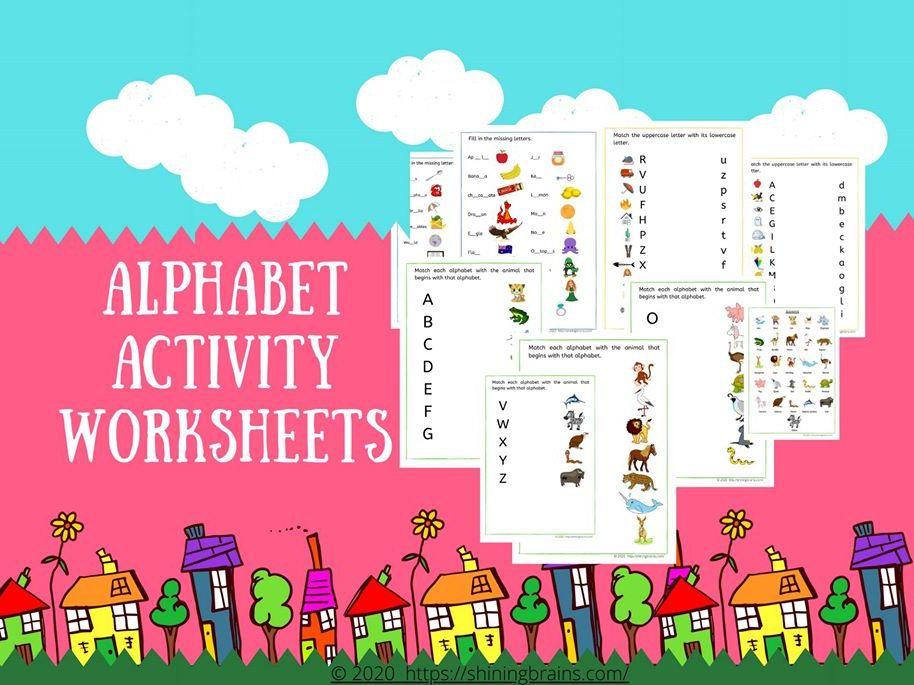 Alphabet Worksheets | Alphabet & Words Activities