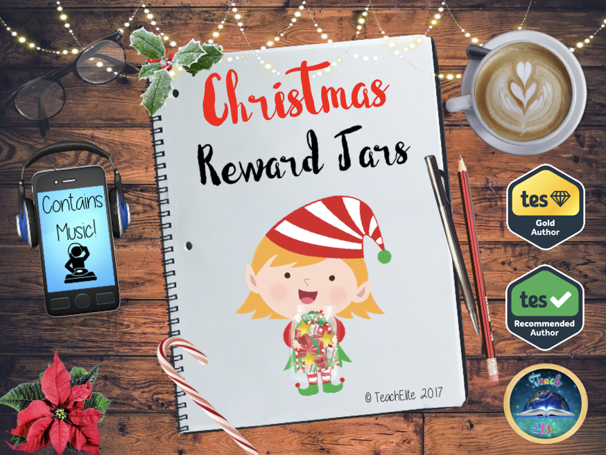 Christmas Reward Jars-Behaviour Management