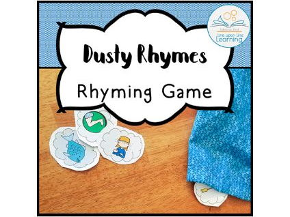 "Rhyming Game ""Dusty Rhymes"""