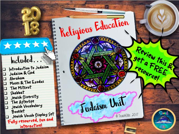 Judaism , Judaism , Judaism!