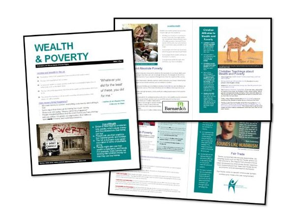 AQA Exam Booklet: Christian Practices: Wealth and Poverty