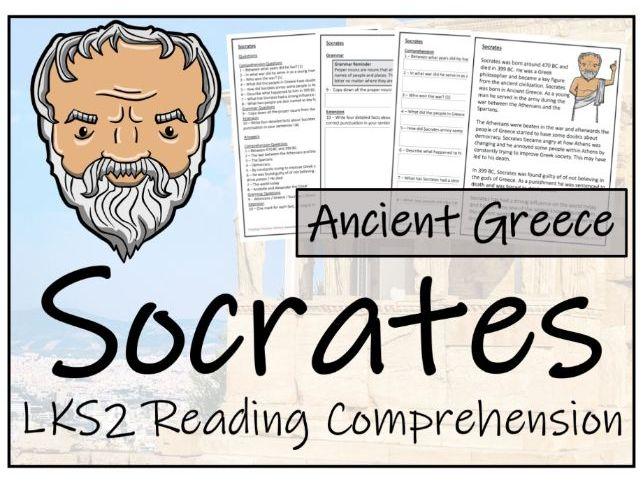 LKS2 Socrates Reading Comprehension Activity