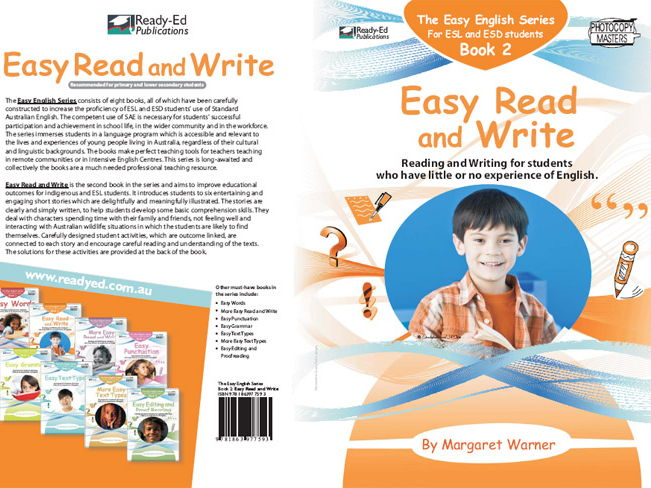 Easy English Book 2: Easy Read and Write (Australian E-book for ESL and At Risk Students)