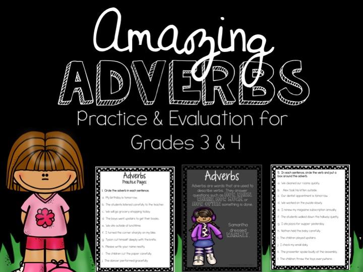Amazing Adverbs