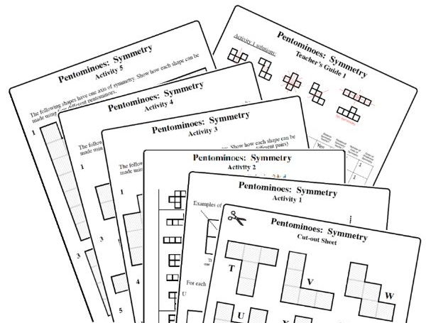 Pentominoes: Symmetry