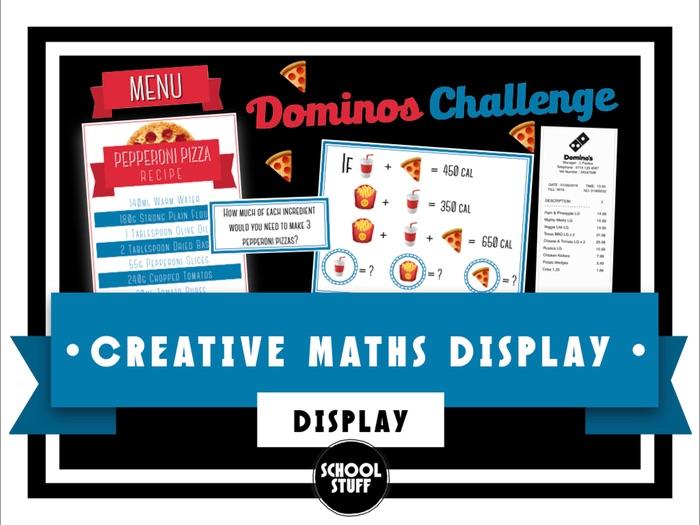 School Stuff - Creative Maths Display
