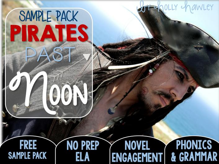 Pirates Past Noon NO PREP (ELA) SAMPLE