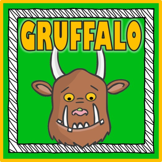 THE GRUFFALO STORY TEACHING RESOURCES READING EYFS KS 1-2 EARLY YEARS ENGLISH LITERACY ANIMALS MOUSE