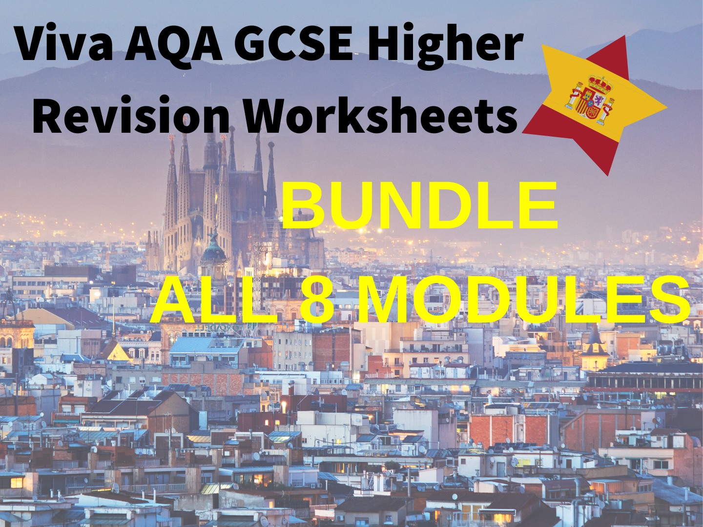 Spanish Viva GCSE Revision Booklets BUNDLE
