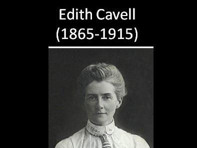 World War One: Edith Cavell