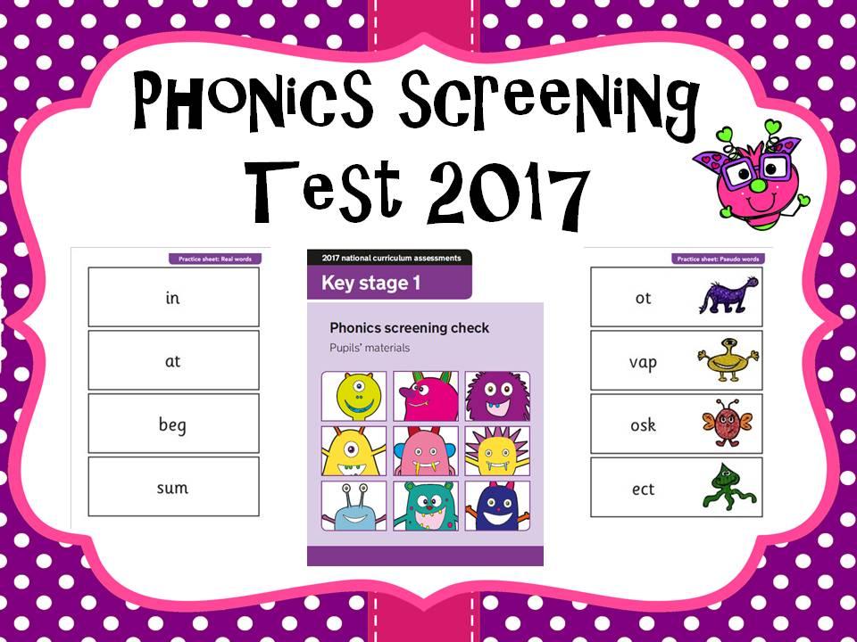 2017 Phonics screening