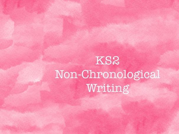 Non-Chronological Reports - KS2