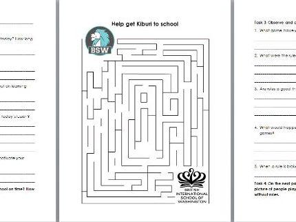 IPC - Physical Education Non-doer/Non-participant Activity Booklets
