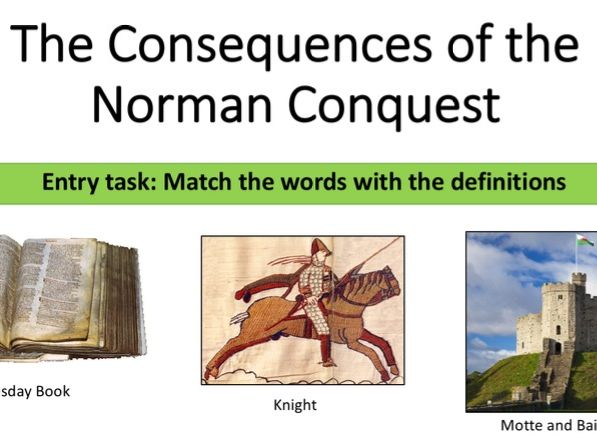 Consequences of the Norman Conquest