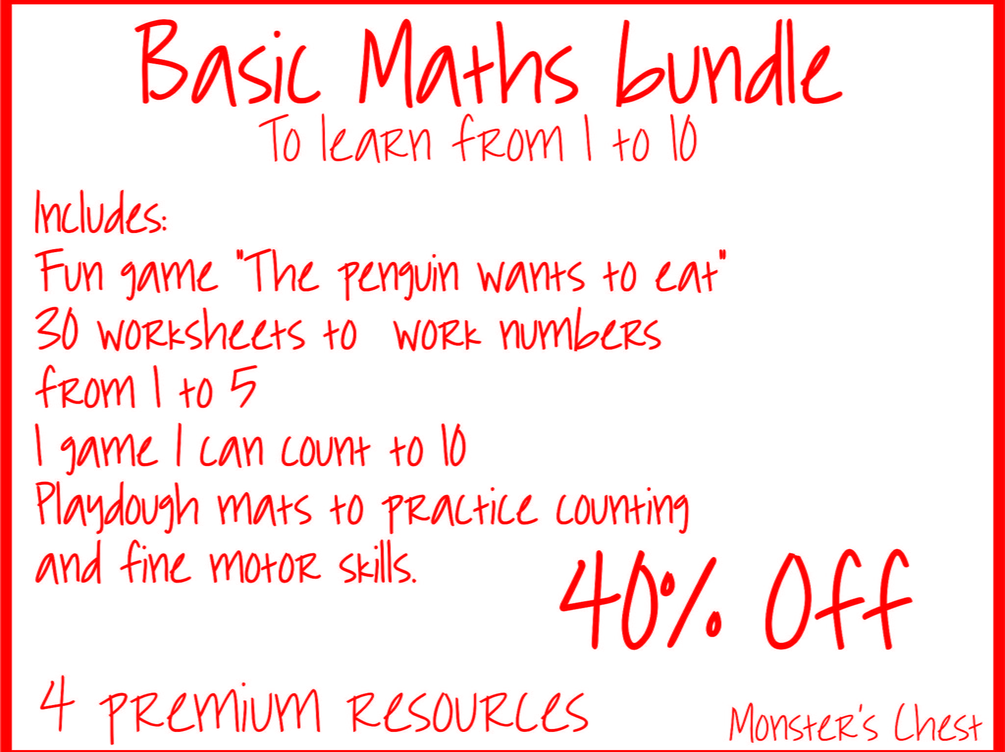Basic Maths Bundle