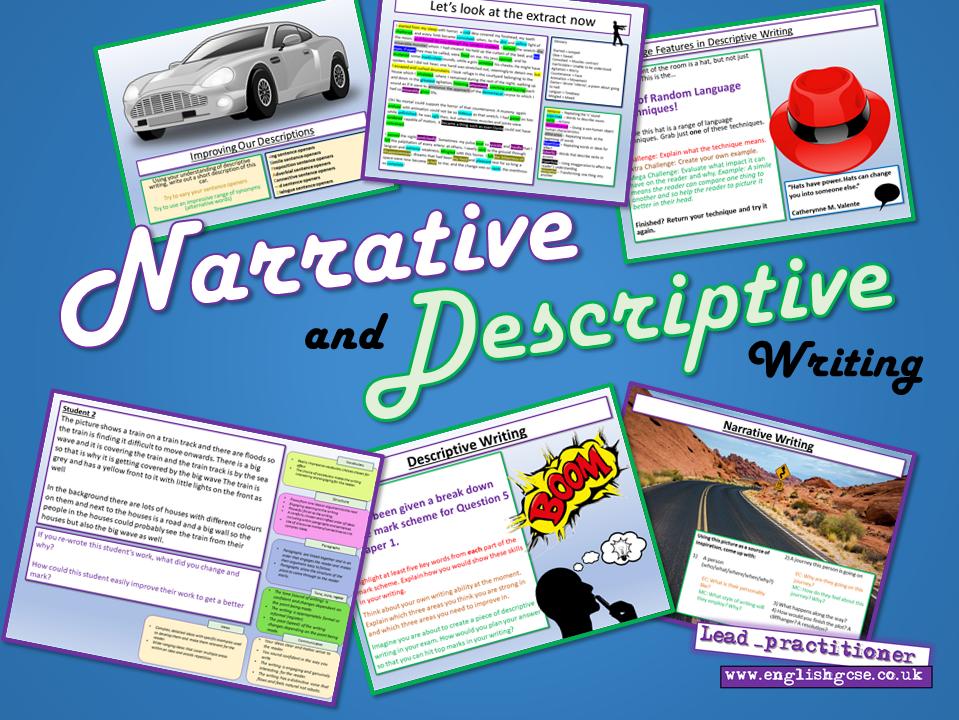 Narrative and Descriptive Writing