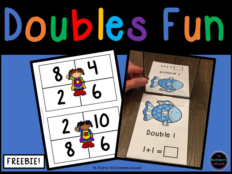 Doubling Activity Cards and Bingo
