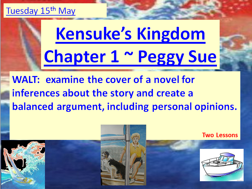 Kensuke's Kingdom by Michale Morpurgo ~ COMPLETE SET OF 13 LESSONS ~ 3 WEEKS OF LESSONS