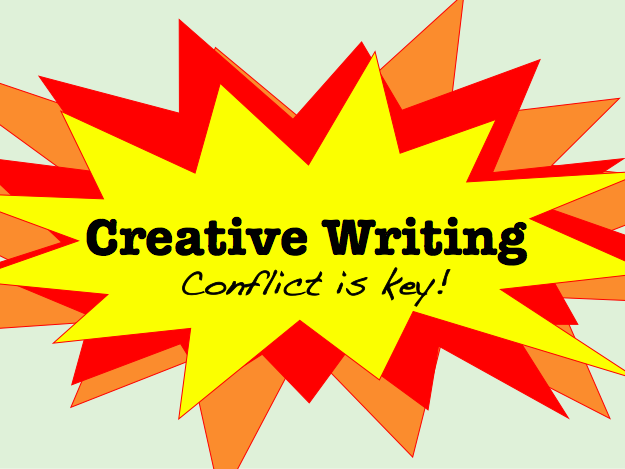 Conflict is Key! - creative writing lesson