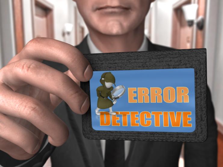 A Level PE: Error Detective - Skill Classification