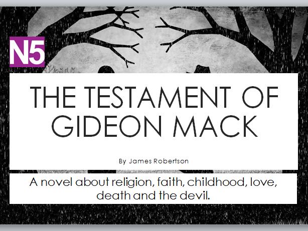 Gideon Mack - 01 - Context and Prologue