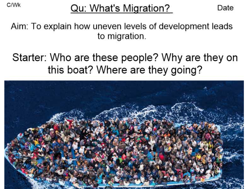 Uneven Development - Migration