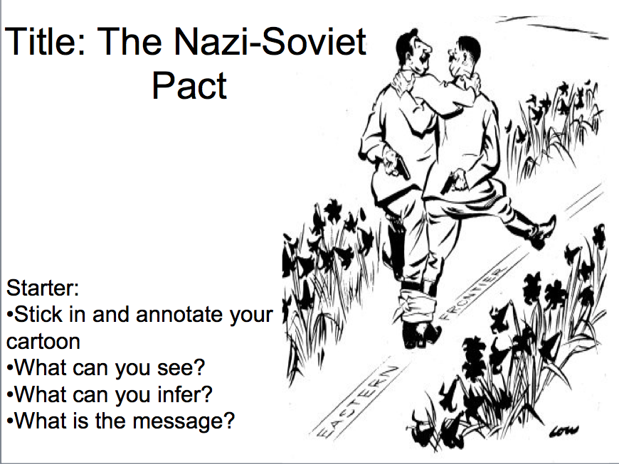 Why had international peace collapsed by 1939? - Lesson 8 the Nazi Soviet Pact