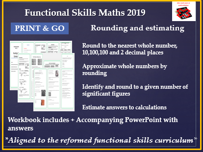 Reformed functional skills maths rounding and estimation