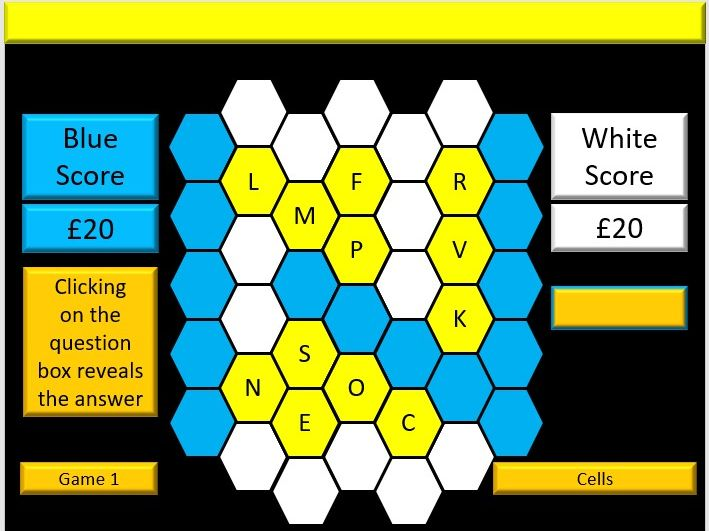 Interactive AQA GCSE Biology Vocabulary Blockbusters Revision Quiz Game Evaluation Version