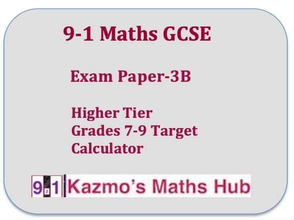 9-1 GCSE Maths Questions Target 7-9