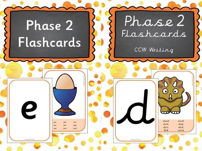 Phonics Phase 2 Flashcards