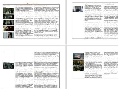 A-Level Media Life on Mars Revision