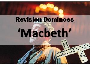 Macbeth Revision Dominoes