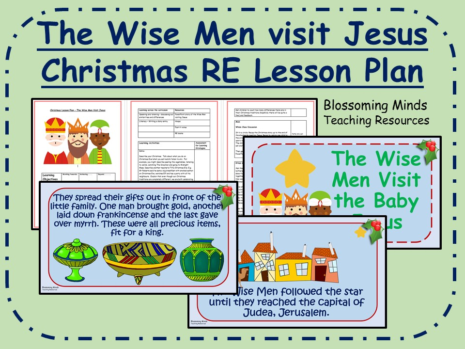 KS2 Epiphany RE Lesson - The Wise Men visit Jesus