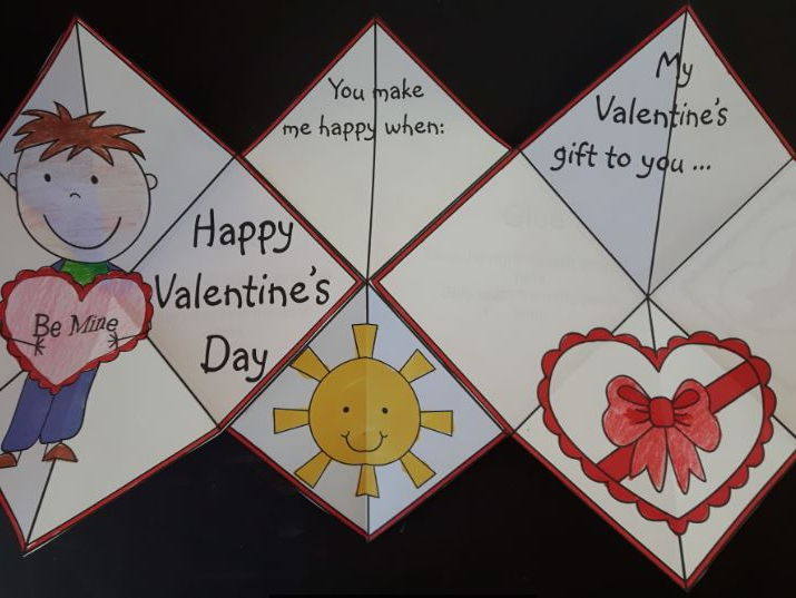 Valentine's Day Crafts - Squash Book
