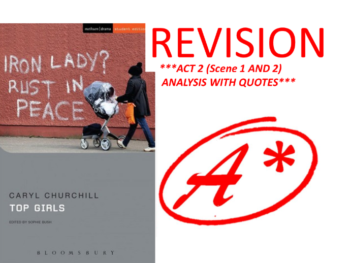 TOP GIRLS BY CARYL CHURCHILL ACT 2 REVISION