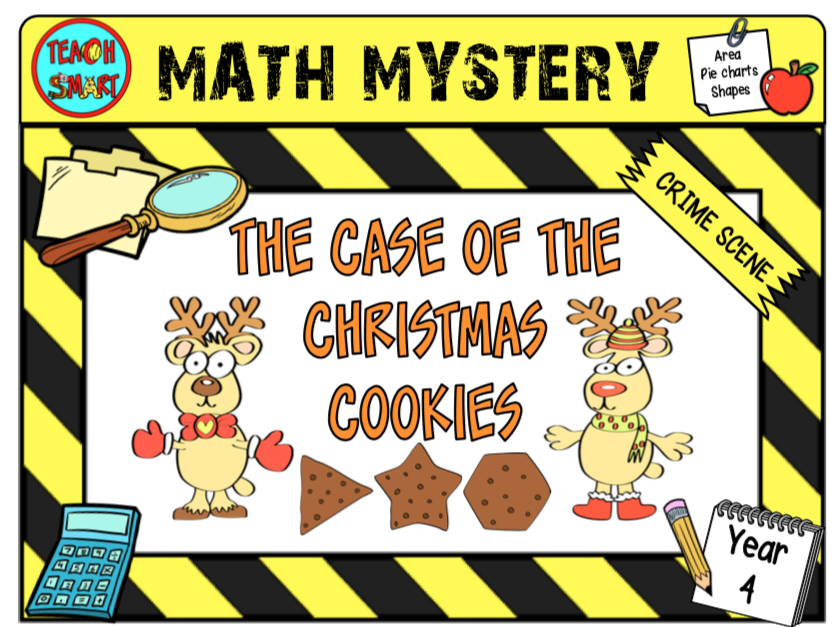 Maths Mystery The Case of the Christmas Cookies Year 4