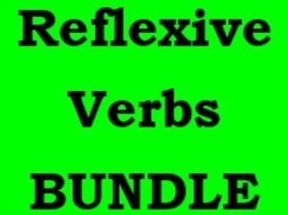 Verbos reflexivos (Spanish Reflexive verbs) Bundle