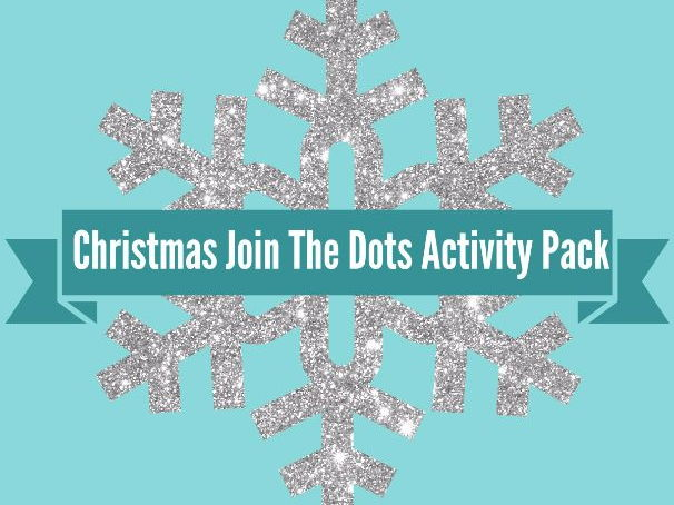 Christmas Join the Dots a set of 10