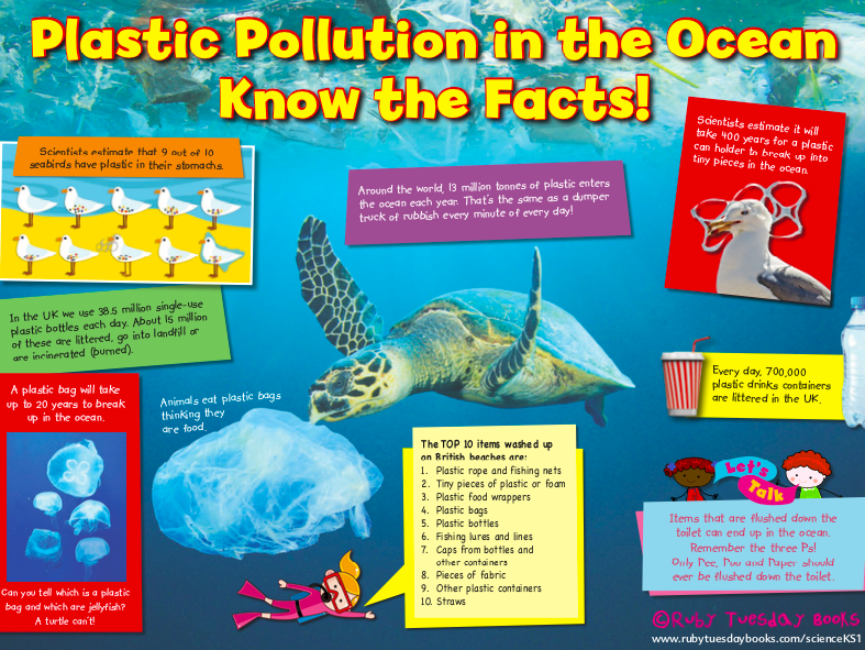 Let's Investigate Plastic Pollution: Fact Sheet