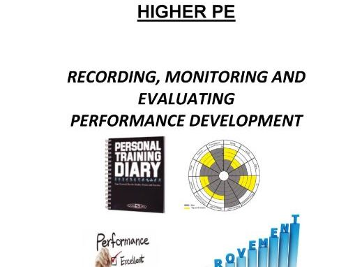 Higher PE Monitoring, Recording and Evaluating